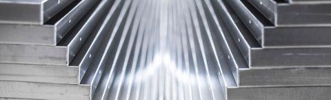 Aluminium, Stahl, Edelstahl